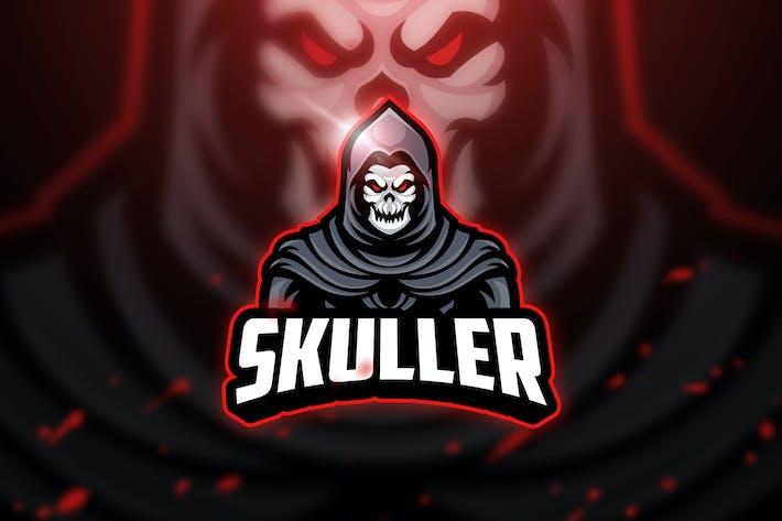 Thumbnail for Skuller - Mascot & Esport Logo