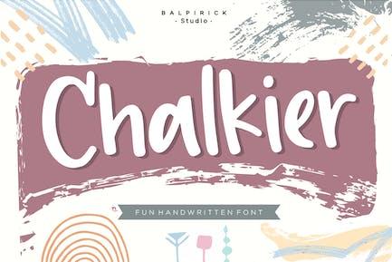 Chalkier Display Font YH