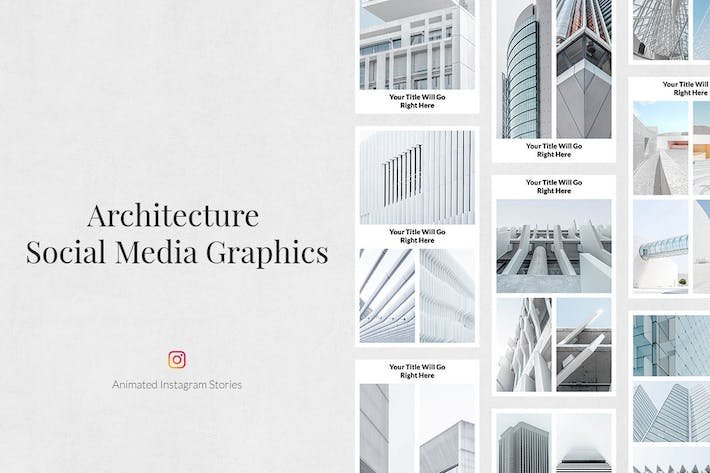 Cover Image For Architecture Animated Instagram Stories