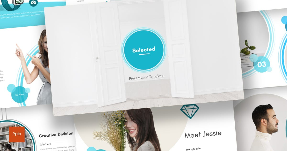 Download Selected - Powerpoint Template by inspirasign
