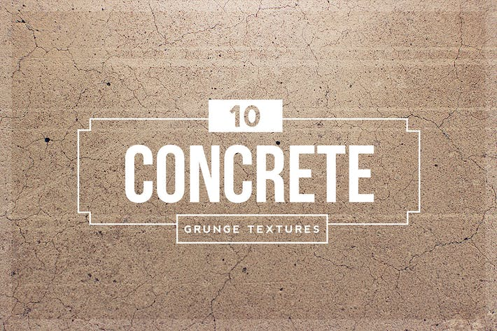 Thumbnail for 10 Concrete Grunge Textures