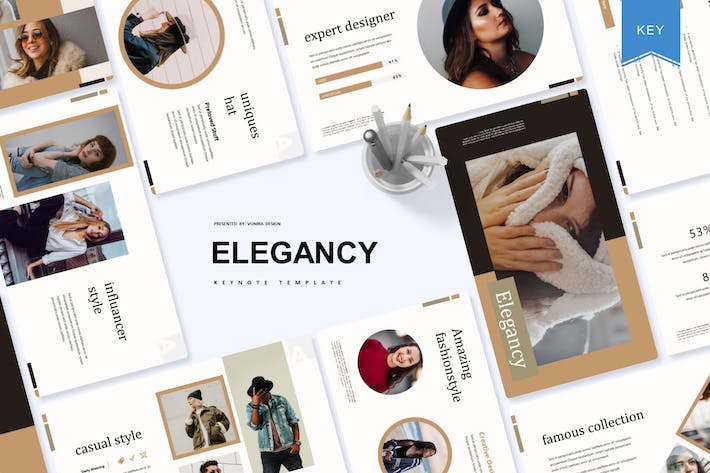Thumbnail for Elegancy | Keynote Template