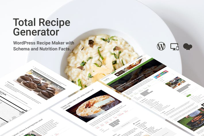 Thumbnail for Total Recipe Generator for WPBakery Page Builder
