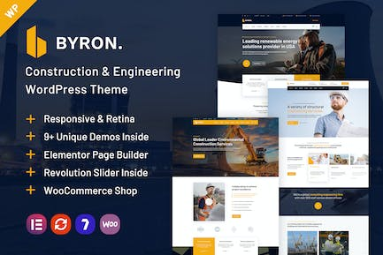 Byron   Construction and Engineering WP Theme