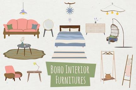 Boho Interior Furnitures