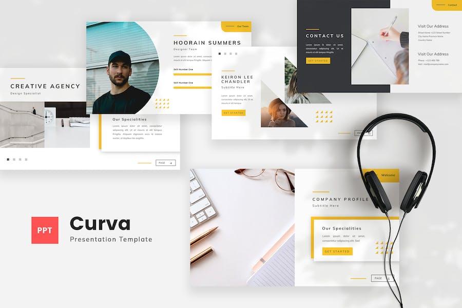 Creative Company Profile PowerPoint Template