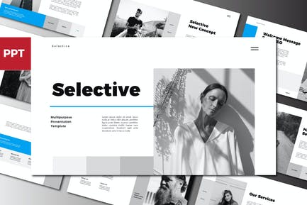 Selective Powerpoint Template
