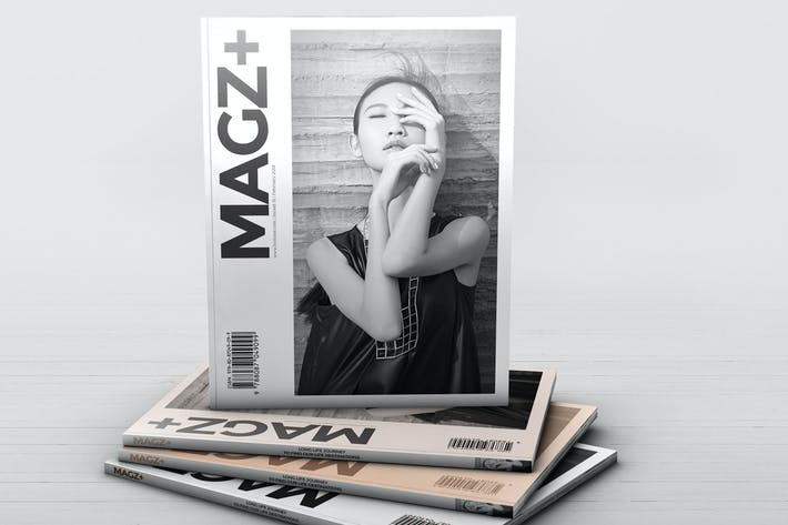 Thumbnail for Realistic Magazine Mockups