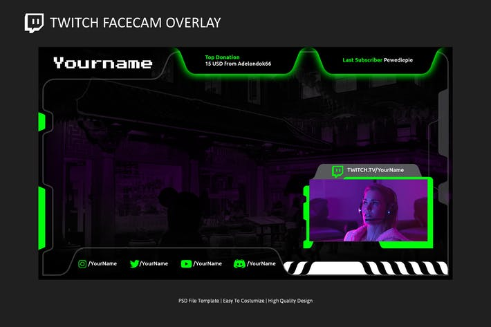 Video Overlay v3 | Video Streaming Overlay