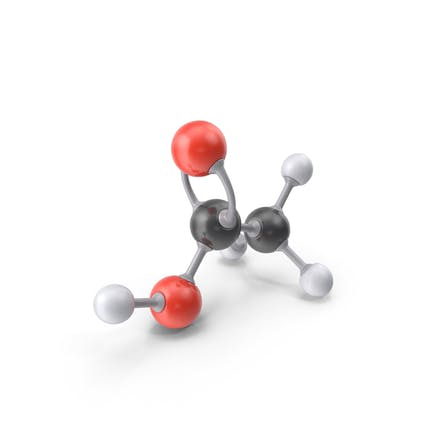 Acetic Acid Molecule