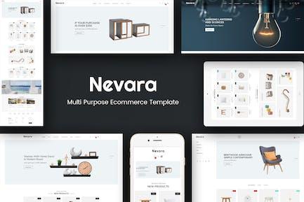 Nevara - Meubles & Intérieur Opencart 3 Thème