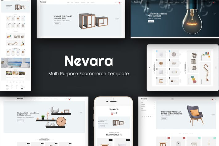 Thumbnail for Nevara - Furniture & Interior Opencart 3 Theme