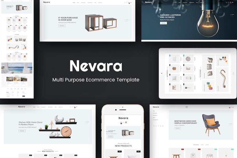 Nevara - Furniture & Interior Opencart 3 Theme