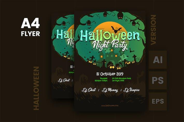 Thumbnail for Halloween Flyer Template v.1