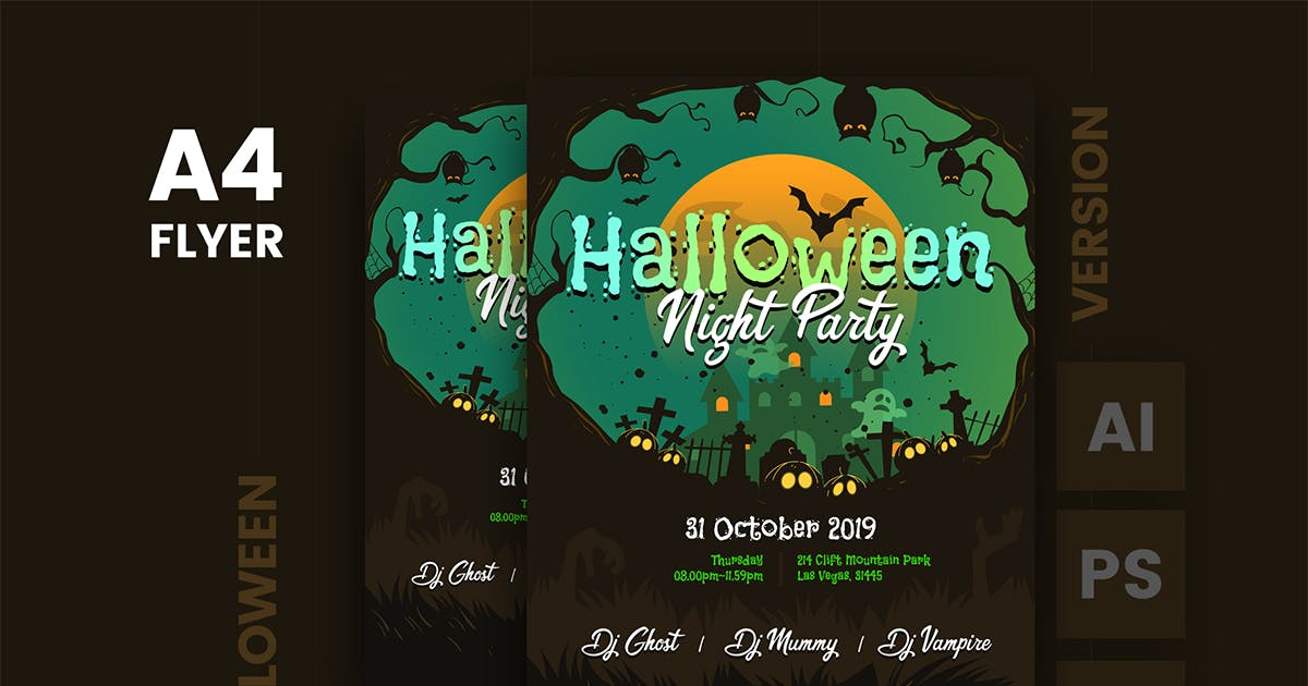 Download Halloween Flyer Template v.1 by Last40