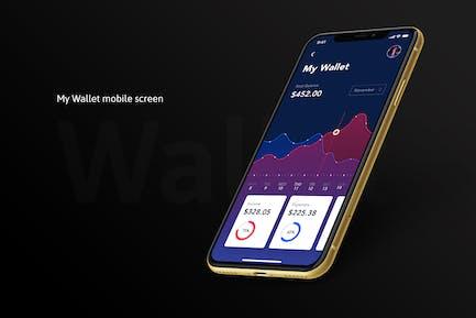 My Wallet Mobile App Screen