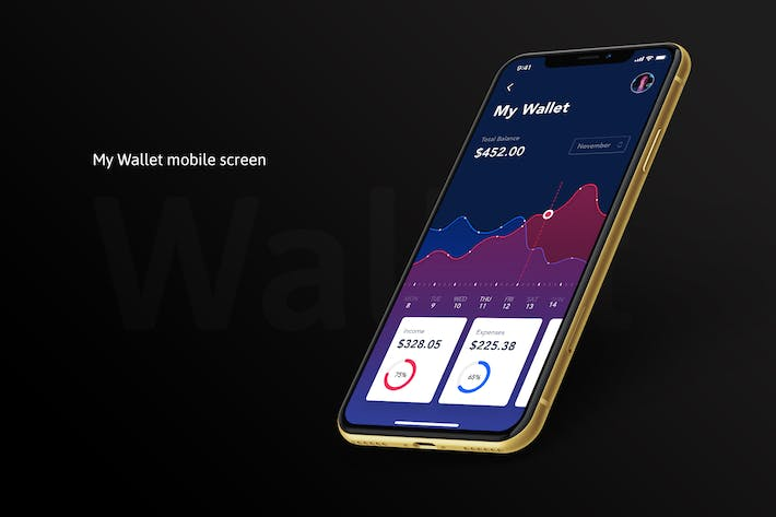 Thumbnail for My Wallet mobile app screen