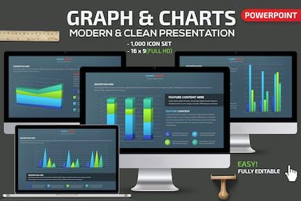 Graph & Charts Powerpoint Presentation