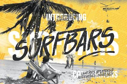 Surfbars Font