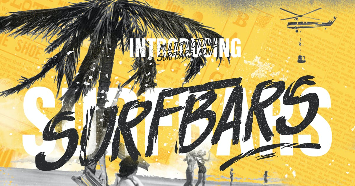 Download Surfbars Font by LeoSupply