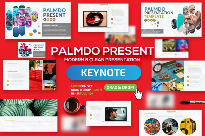 Thumbnail for Palmdo Keynote Presentation Template
