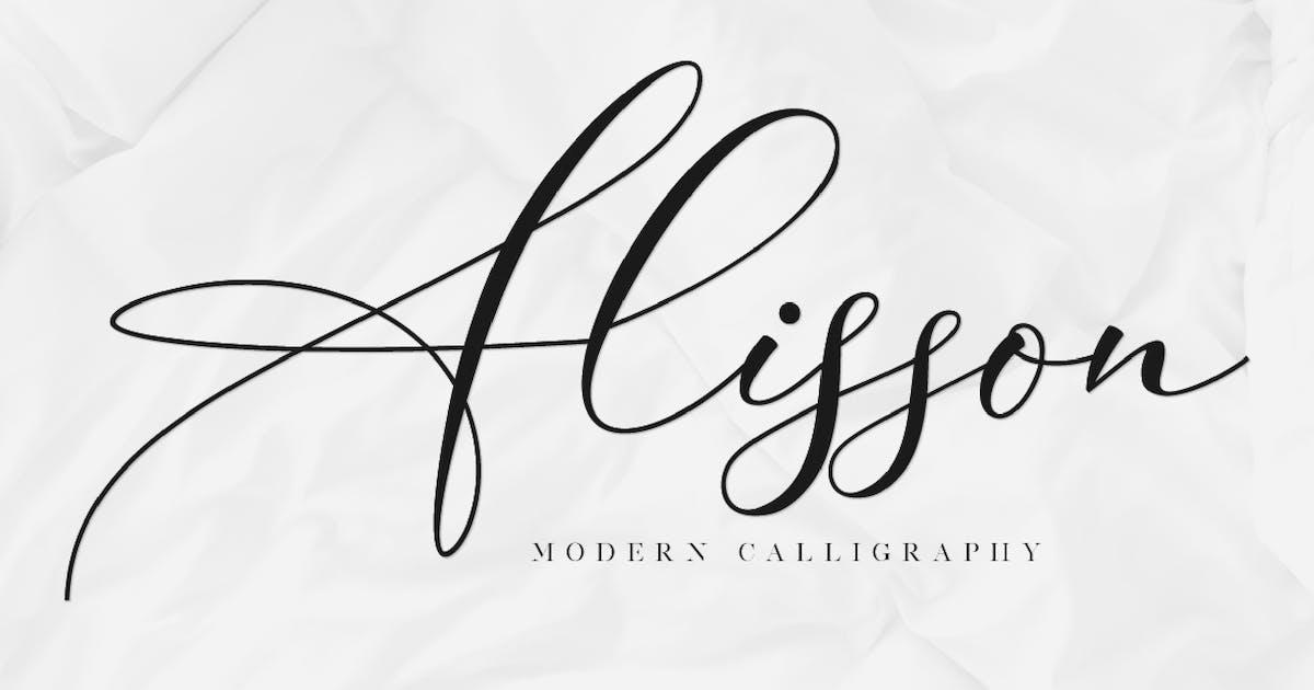 Alisson - Script Font by GranzCreative