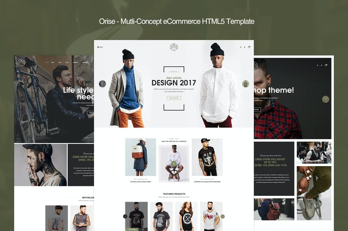 Thumbnail for Orise - Mutli-Concept eCommerce HTML5 Template