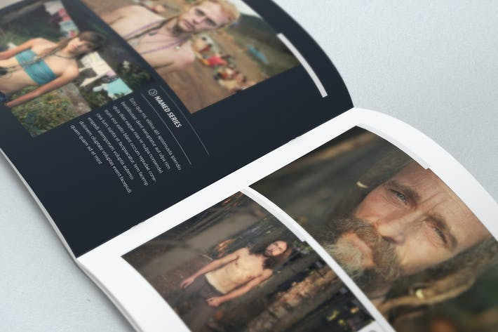 Thumbnail for Elegant Photo Album Indesign Template
