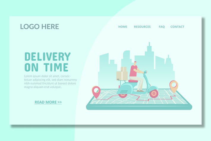 Thumbnail for Pickup Service - Landing Page