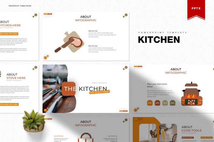 Thumbnail for The Kitchen | Powerpoint Template
