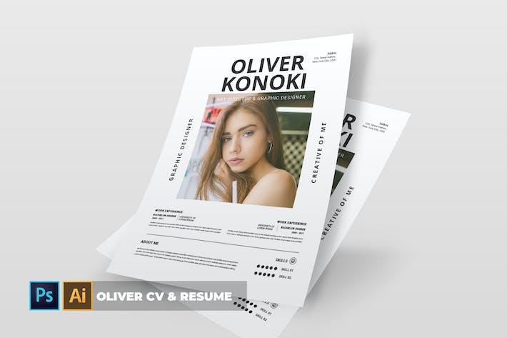 Thumbnail for Oliver | CV & Resume