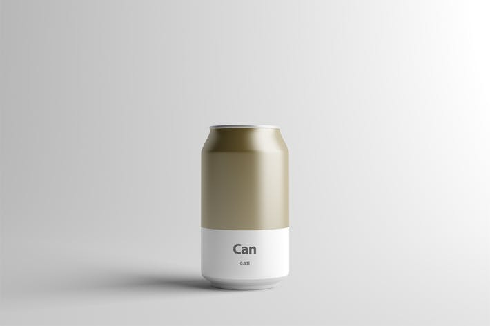 Thumbnail for Can Mock-Up - 330ml