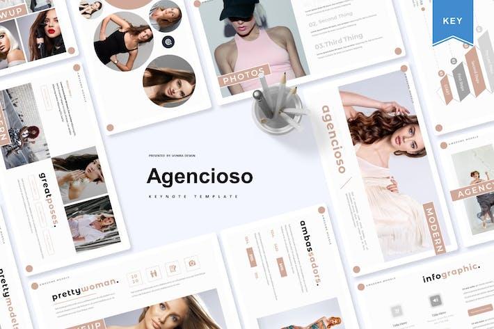 Thumbnail for Agencioso | Шаблон Keynote