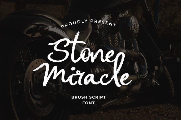 Thumbnail for Stone Miracle Calligraphy Brush Style