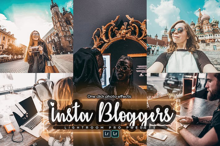 Thumbnail for Insta Bloggers Lightroom Presets