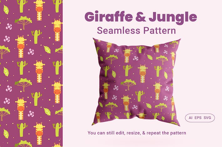 Thumbnail for Seamless Pattern Jungle
