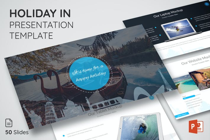 Thumbnail for Holiday In - Presentation Template