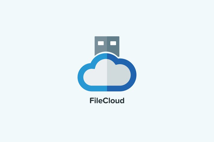 Thumbnail for Plantillas de logotipos de la nube de archivos