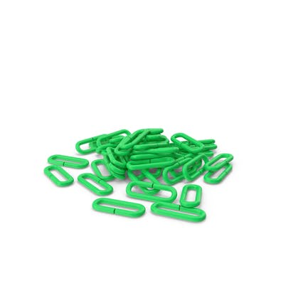 Куча цепи зеленый