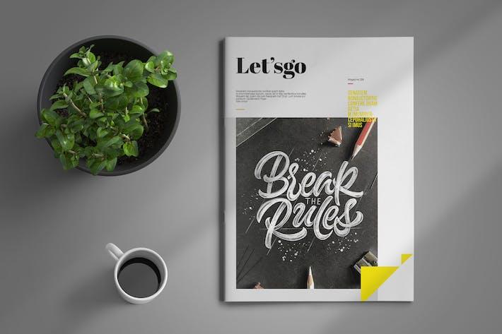 Thumbnail for Letsgo | Magazine Template