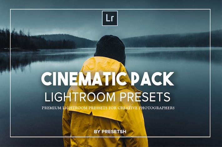 Thumbnail for Коллекция киКинематографическая Пресеты Lightroom