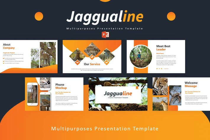 Thumbnail for Jaggualine - Powerpoint Template