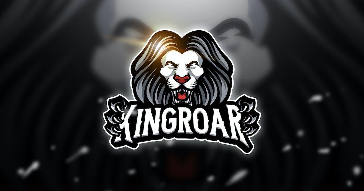 Download Kingroar 2  - Mascot & Esport Logo by aqrstudio