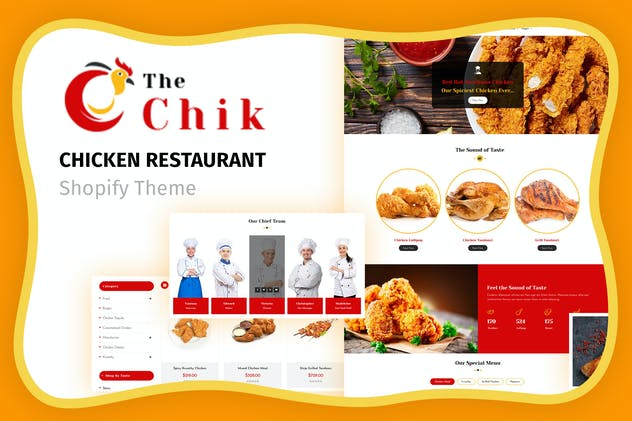 Chik | Chicken Restaurant Shopify Store
