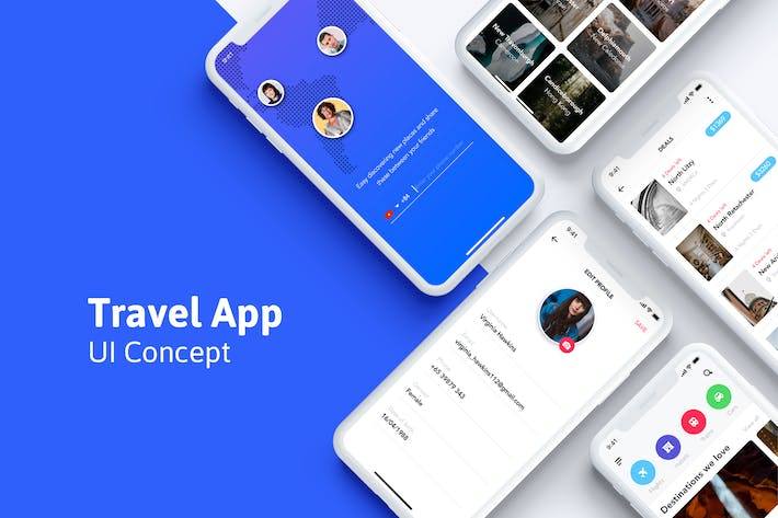 Thumbnail for Booking UI Concept for Travel