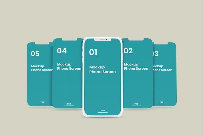 Thumbnail for Telefon-Bildschirm-Mockup