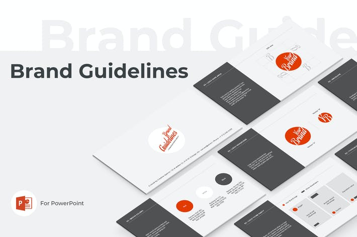 Thumbnail for Brand Guidelines PowerPoint Template