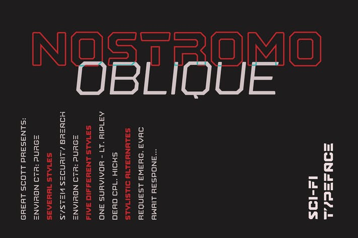 Thumbnail for Nostromo Oblique