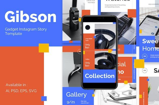 Gadget Store Promotion Instagram Template