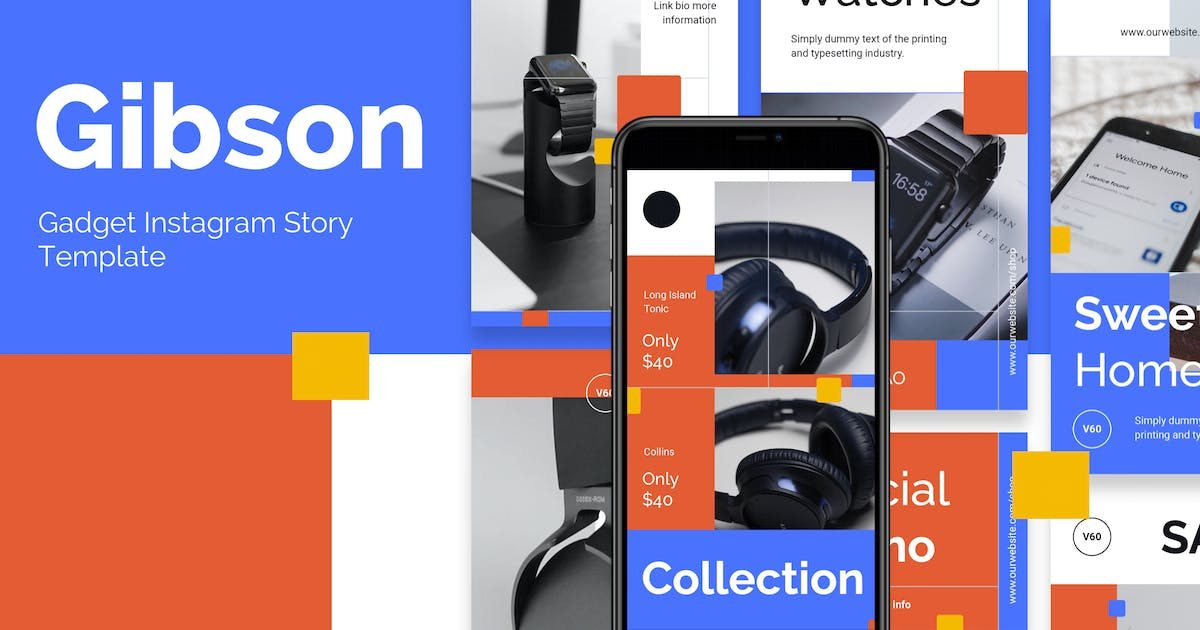 Download Gadget Store Promotion Instagram Template by deTheme